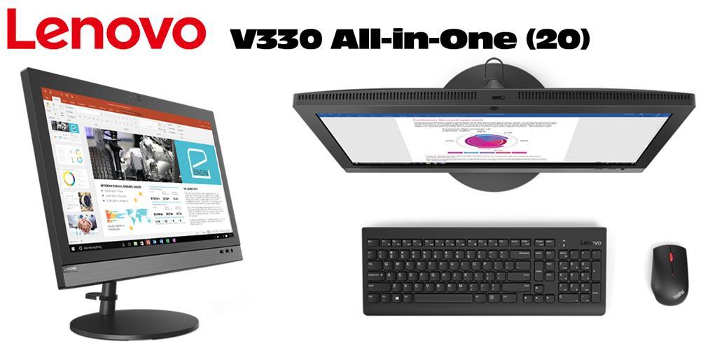 Lenovo Desktop V330+20ICB AIO Intel Core i3-8100