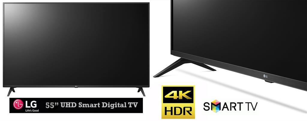 LG 55 inch LED Backlit Ultra High Definition webOS Smart TV