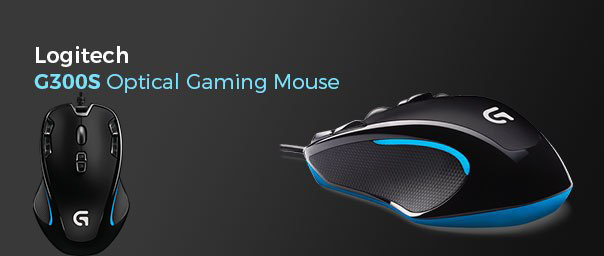 Logitech G300S Optical Gaming Mouse, Retail Box , 1 year Limited warranty