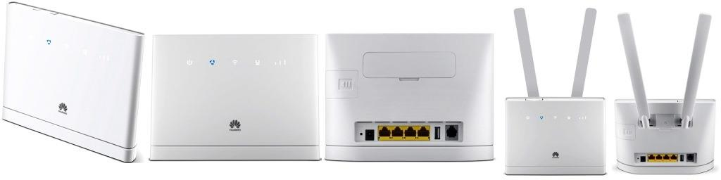 Huawei B315 Wi-Fi LTE Router, D150Mbps, U 50Mbps, 4G/LTE, 3G, 2G