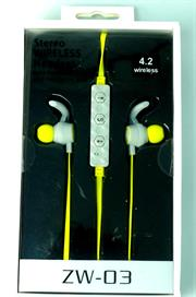Geeko ZW-03 Wireless Bluetooth Earphones , BT4.2 , 