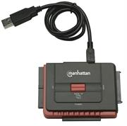 Manhattan Hi-Speed USB to SATA/IDE Adapter 3-in-1 