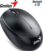 Genius NX-9000BT Bluetooth 4.0 3-button wireless optical mouse - 1200 dpi BlueEye sensor, Built-in 320mAh lithium poylmer battery, 10m Range - Grey, Retail Box , 1 year Limited warranty