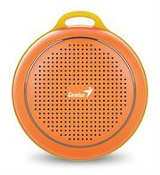 Genius SP-906BT R2 Plus Portable Bluetooth - Orange, Retail Box , 1 year Limited Warranty