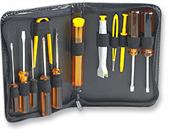 Manhattan 13pc A+ Basic Computer Tool Kit- Ideal for Students and Colleges that offer A+ Courses, Retail Box, 2 year Limited Warranty