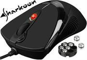 Sharkoon FireGlider r Gaming Laser Mouse-Black inc 
