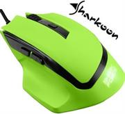 Sharkoon SHARK Force Gaming Optical Mouse: Green, 