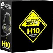 Sharkoon Shark Zone H10 PC Headset with integrated volume control and microphone, Retail Box , 1 Year warranty
