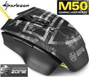 Sharkoon Shark Zone M50 Laser Gaming Mouse -Yellow LED 