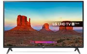 """LG 43UK6300 Series 43"""" Ultra High Definition 4K EdgeLit LED Smart TV - 3840 x 2160 Resolution, T100Hz TruMotion Frame Rate, Built-In Digital TV DVB-T2/C/S2 Broadcasting System, 3 X HDMI Ports, 2 x USB 2.0, 1 X LAN Port, Built in Wi-Fi 802.11AC, 2 Channel 20w Stereo Speakers AC3(Dolby Digital), EAC3, HE-AAC, AAC, MP2, MP3, PCM, DTS, DTS-HD, DTS Express, WMA, apt-X, 6 Modes Aspect Ratio, WebOS, Remote Control, Retail Box , 2 year Limited Warranty"""