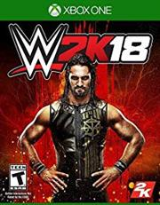 Xbox One Game - WWE 2K18, Retail Box, No Warranty on Software