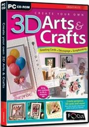 Apex Create Your Own 3d Arts & Crafts, Retail Box