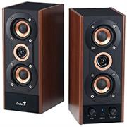 "price of Genius HF800A Stereo 2.0 Channel Three Way Hi Fi Wood Speaker System - Total Output Power 20 watts (RMS) , Ultra-rigid MDF board cabinet , Two 2.0"" 4 Ohm High-performance Copper Coated Cone Speaker Units , with 1.0"" 8 Ohm Tweeter , Frequency Response 80 - 20000 Hz , Signal to Noise ratio: 75dB , Adjustable Volume and Tone controls , Secondary line-in jack- Maple Wood, Retail Box , 1 year Limited Warranty  on ShopHub 