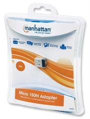 Manhattan Micro 150N Wireless Adapter - 150 Mbps, 802.11b/g/n, USB 2.0 Low-Profile Wireless Network Adapter , Retail Box, 2 year Limited Warranty  Product OverviewEasily Enhance Your PC Performance! The Manhattan Micro 150N Adapter is an easy an