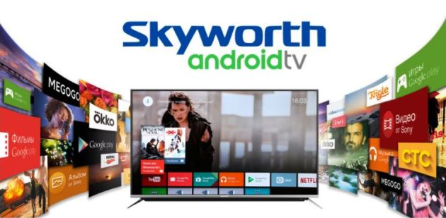 Skyworth 55 inch 4K UHD Smart Android TV with Built In