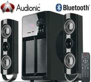 price of Audionic BlueTune BT-850 Wireless Bluetooth 2.1 Channel Hi-Fi Speakers, USB Playing Port , SD / MMC Slot , Built-in FM Radio , Output Power: 80W + 15W x 2 , Bass Duct Technology , Wireless Remote Control , Retail Box , 1 year Limited Warranty on ShopHub | ecommerce, price check, start a business, sell online