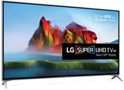 """LG 65SJ800V Series 65"""" Super UHD LED Digital TV with Nano Cell technology EdgeLit LED Smart TV - True Motion 240/200 Frame Rate, Built-In Analogue Broadcasting System, 4 X HDMI (6G/3G) Ports, 3 x USB (3.0/2.0), 2 Channel Harman Kardon Stereo Speakers, WebOS 3.5, Remote Control - Black, Retail Box , 2 year Limited Warranty"""