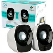 Logitech Z120 2.0 Stereo Speakers - 1.2 Watts RMS, 