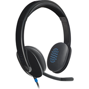 Logitech H540 USB Headset with 