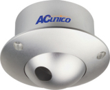 "AC Unico Dome Camera 1/3"" SHARP CCD COLOUR WITH 3.6MM - Compatible with Various Lens, Delicate appearance Effective pixels pal-500(H)/582(V) Ntsc:510(H)/492(V) signal system: PAL/NTSC Horizontal Resolution:420TV line Minimum illumination: 1.0lux/F1.2 S/N RATIO More Than :48db (AGC OFF) Video output: VIDEO OUT (BNC) Power Requirement:DC12V/500mA Power Consumption: LESS THAN 2.8w, Retail Box , 1 Year warranty"