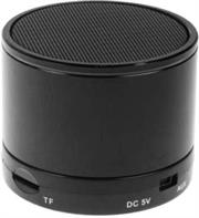 Geeko Mini Rechargeable Bluetooth Version V2.1 Speaker with Microphone -built-in 520mAh lithium battery, Operating Range up to 10m, Total Power 3W, Mini-USB port , MicroSD card slot - Midnight Black, Retail Box , 1 year Limited Warranty