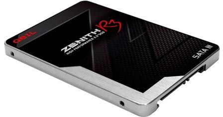 "GeIL Zenith R3 Series - GZ25R3-120G 2.5"" 120GB SATA 6.0Gb/s 7mm Internal (SSD), Image"