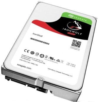 Seagate IronWolf 4TB 64MB Cache 3.5 inch Internal NAS Hard Disk Drive - SATA III 6 Gb/s Interface, 5900rpm Spindle Speed, Up to 180 MB/s Data Transfer Rate Image