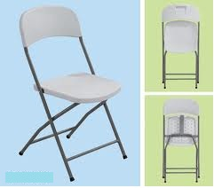 unique steel folding chair size 430x450x835mm white no warranty