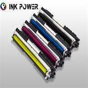 Inkpower Generic for HP 130A for use with HP Color LaserJet Pro MFP M177fw/MFP M176n Magenta Toner Cartridge, Retail Box ,