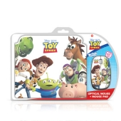 Disney Toy Story Mouse & Mouse Pad Gift Set Retail Packaged     Product Description    This stylish design mouse and mouse pad gift set featuring all-time favourite Disney characters is the perfect gift for teenagers and kids of all age