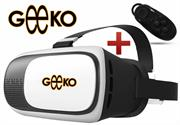 Geeko VR-Box Virtual Reality 3D Glasses with Mini 