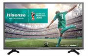 price of HiSense 32 inch Direct LED Backlit High definition Ready TV- 720p Picture Quality , 1366 x 768 Resolution , 8ms response time , Brightness (cd/m2) 200, Contrast 3000:1 , 2x HDMI Inputs , 1x USB2.0 Port ,1 x VGA D-Sub Port , Stereo 6w Sound Output, , Retail Box , 3 year Limited Warranty on ShopHub | ecommerce, price check, start a business, sell online