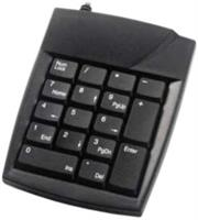 UniQue PS/2 Numeric Keypad -19Key , Ultra Slim and Lightweight , 1 Metre cable length , PS/2 Interface-Black , Retail Box , 1 year Limit warranty  Product OverviewThe UniQue PS/2 Ultra slim 19 Key Numeric Keypad is a mini lightweight numeric key