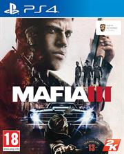 Sony PS4 Game - Mafia III, Retail Box, No 
