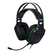 Razer Electra V2 Gaming Headset-Surround sound immersion, Plush Ear Cushions for greater sound isolation, Flexible and detachable Boom Microphone, Adjustable headband for ultra-flexibility, Custom-tuned 40 mm drivers, Frequency response: 20 Hz – 20 kHz, Drivers: 40 mm with Neodymium magnets Quick control buttons on headset, Cable length: 1.3metres, Retail Box, 1 year Limited Warranty