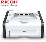 Ricoh SP211 A4 Mono Laser Printer - Print speed: 22 