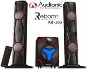 price of Audionic Reborn RB108 2.1 Channel Tall Boy HiFi speakers with FM radio - Remote control, SD/ MMC/ USB, Retail Box , 1 year Limited Warranty  on ShopHub | ecommerce, price check, start a business, sell online
