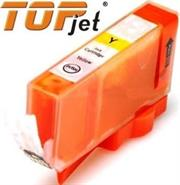 TopJet Generic Replacement Ink Cartridge for Canon Ink CLI-426 Yellow - Page Yield 200 pages with 5% Coverage for Canon Pixma MG5140 / MG5240 / MG5340 / MG6140 / MG6240 / MG8140 / MG8240 / IP4840 / IP4940 / MX714 / MX884 / MX894-Yellow , Retail Box&n