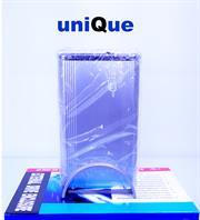 "UniQue 3,5"" External Hard Drive Enclosure  SATA2 , USB 2,0 , E Sata, Silver, Retail Box, 1 year  warranty"