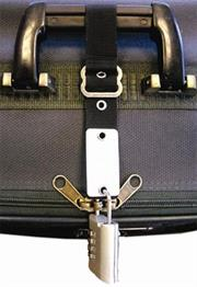 Esquire Anti-Theft Luggage Zipper Strap, Retail