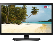 """LG 24MT48AF 23.6"""" Wide LED TV Monitor - 16:9 Aspect Ratio, 1366x768, 14ms Response Time, 5,000,000:1 Dynamic Contrast Ratio, 250cd/m2 Brightness - D-Sub, Composite, HDMI, USB 2.0, RCA Audio, 2 x 5W Speakers, Retail Box , 2 year Limited Warranty"""