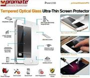 Promate Primeshield.Ip5 Premium Ultra-Thin Tempered Optical Glass Screen Protector For Iphone 5, Retail Box , 1 Year Warranty