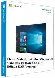 Microsoft Windows 10 Home 32